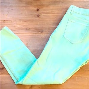 Lime Green Jeans